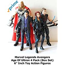 "Review: Marvel Legends Avengers Age Of Ultron 4 Pack (Box Set) 6"" Inch Toy Action Figures"