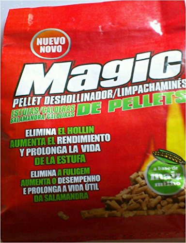 MAGIC - Antihollin Estufa Pellet Magic 1,5 Kg