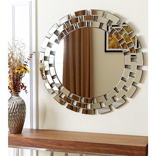 ABBYSON LIVING Devon Round Wall Mirror (35.5