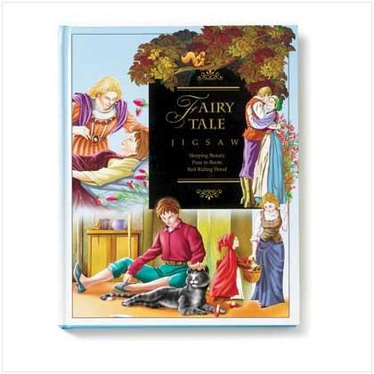 Fairy Tale Jigsaw Puzzle Book - Fairy Tale Jigsaw Puzzle Book