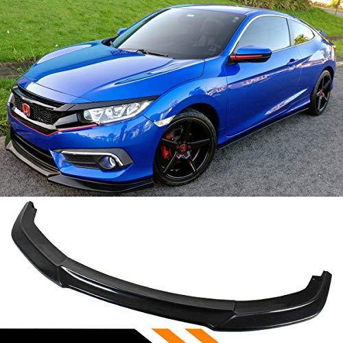 Fits for 2016-2018 10TH Gen Honda Civic X FC Front Bumper Lip Splitter - JDM GT Style