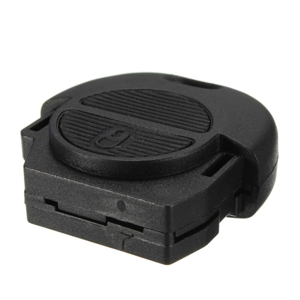 Busirde 2 Bouton /à Distance Flip Fob cl/é de Voiture Shell de Remplacement pour Nissan Micra Almera Primera Case X-Trail Car Key Cover
