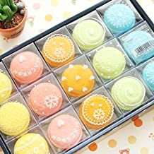 Sala-Houseware - Sweet Macaron Candy Color Eraser Rubber Eraser Primary Student Prizes Promotional Gift Stationery