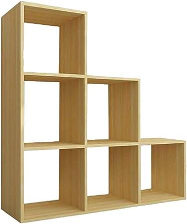 Nai-storage Soporte de exhibición de Registro LP, Organizador de Escalera de estantería de Madera, Cubos
