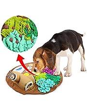 ALL FOR PAWS Huisdier Snuffle Mat, Hondenvoermat met schattig speelgoed, hondentrainingsmat huisdier neus werkdeken antislip huisdier activiteit mat voor foerageren vaardigheid, stress release, ideaal voor honden
