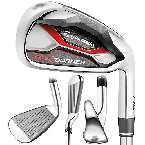 TaylorMade Golf AEROBURNER HL Irons Steel Regular Flex 4-PW/AW Right