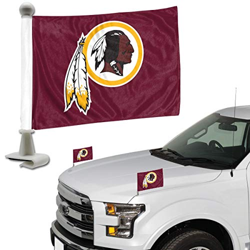 Ambassador Set - ProMark NFL Washington Redskins Flag Set 2Piece Ambassador Stylewashington Redskins Flag Set 2Piece Ambassador Style, Team Color, One Size
