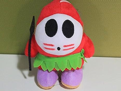 Super Mario Bros Shy Guy Plush Soft Doll Toy Figure Stuffed Animal 5 inch Gift
