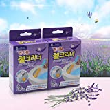 MR. Strong Toilet Cleaning Gel Fresh,Scrubbing Bubbles Toilet Bowl Cleaning Click Gel 150g,(2 Pack, Lavender Fragrance) Continuously Cleans and Freshens with Every Flush for Daily Cleaner, Home Use