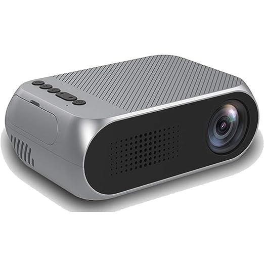 MLL Mini Proyector LED Portátil Proyector de Vídeo con USB/SD/AV ...