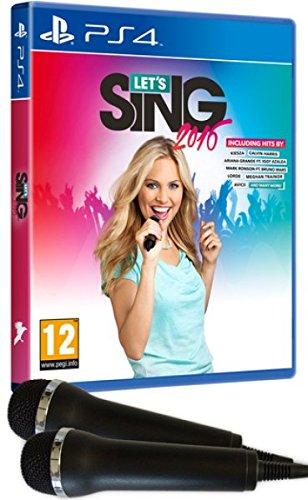 Let's Sing 2016 + 2 Mics (PS4)