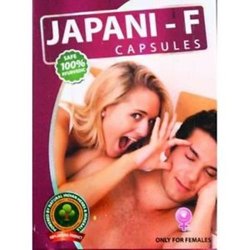 Japani F (10 Capsule) for Frigidity and Lack of Desire in Women