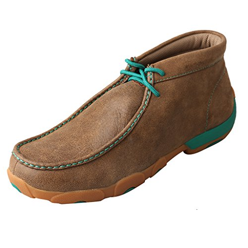 Twisted US Brown And Twister Mocs 10 EE Green Mens Lush X Driving 5 r18q7wr