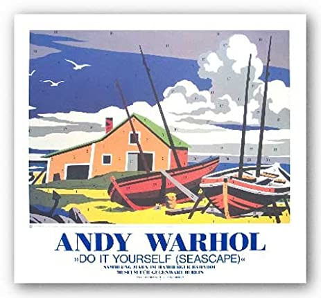Amazon do it yourself seascape by andy warhol 215x29 art do it yourself seascape by andy warhol 215quotx29quot art print poster solutioingenieria Choice Image
