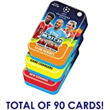 2017-18 TOPPS MATCH ATTAX CHAMPIONS LEAGUE MEGA TIN 60 CARDS PLUS 5 BONUS PACKS TOTAL OF 90 CARDS + LIMITED EDITION GOLD CARD! LOOK FOR MESSI, NEYMAR, RONALDO & MORE! **DO NOT CONFUSE WITH SMALLER 60 CARD TIN** **SHIPS FROM USA**