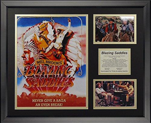 Legends Never Die Blazing Saddles Framed Photo Collage, 16