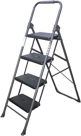 KJZ Escalera de la barandilla, escalera de tres pasos de la escalera de la escalera de cuatro escaleras de la escalera de cuatro escaleras de la escalera de la escalera del metal: