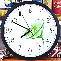RRYHE Silent Wall Clock Children Cartoon Watch Compass Clocks Simple Creative Living Room Bedroom Clock Clock 21cm