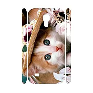 Classic Personalized Animal Series Cute Cat Pattern Snap on Hard Phone Accessories Cell Phone Cover Skin for Samsung Galaxy S4 Mini I9195 Case