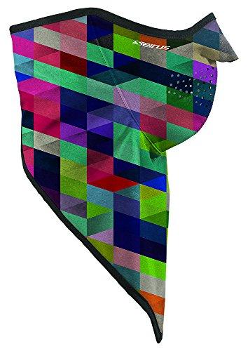 Seirus Innovations Soft Shell - Seirus Innovation Soft Shell Combo Dana Balaclava Headwear, Large/X-Large, Multi-Rhombus
