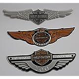 eagle motorcycle 3d Logo Chrome Emblem Badge Sticker Self Adhesive Badge Decal for harley davidson