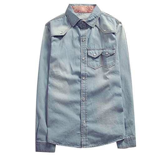 Mens Denim Plus Casual High Quality suave Outerwear Azul Zhuhaitf Jacket Tops Size Soft w5nXq8R8vx