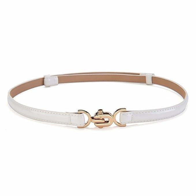 fe73ba228 Betrothales Cinturón Para Mujer Hebilla De Casual Chic Charol Cinturón De  Cintura Accesorios De Moda Sencillo