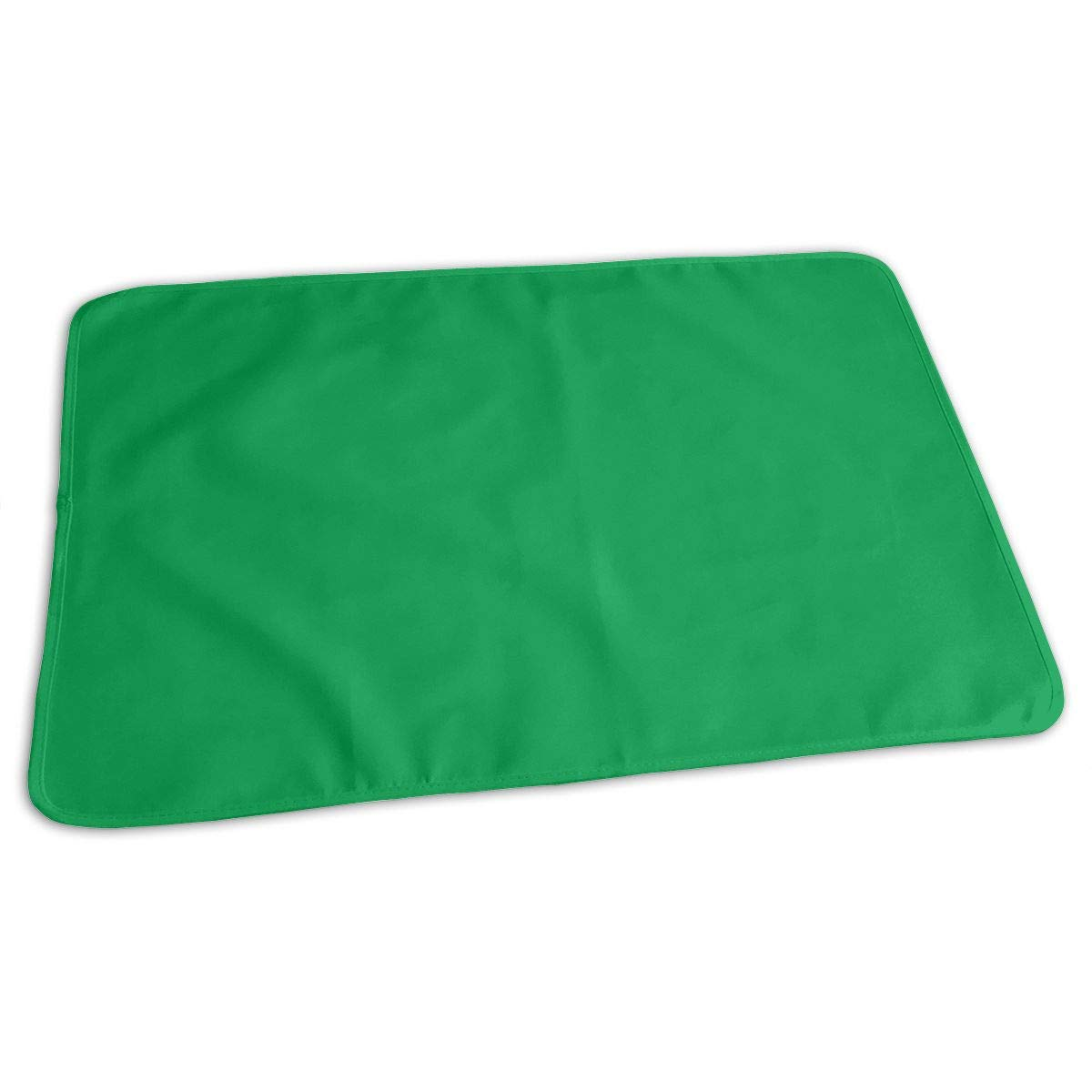 Irish Green Baby Portable Reusable Changing Pad Mat 19.7x27.5 inch