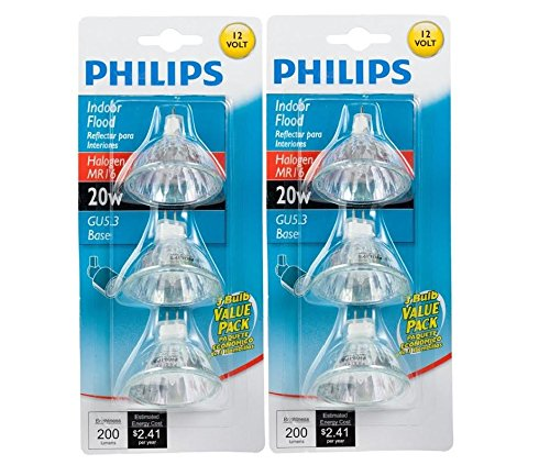 Philips 20 Watt Mr16 Halogen Flood Light Bulb