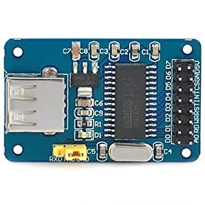 NBCVFUINJ® Módulo D108054 DIY CH375B USB Flash Drive de Lectura / Escritura
