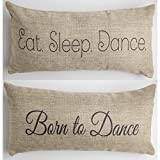 Evelyn Hope Collection Born to dance-gift Throw Pillow