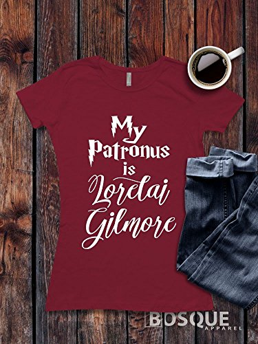 T-shirts Fine Design (Gilmore Girls inspired T-Shirt / Adult T-shirt design Harry Potter inspired My Patronus is Lorelai Gilmore Shirt - Ink Printed)