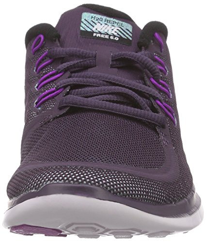 Nike Womens Wmns Free 5.0 Flash, Nbl Purple / Reflect Argento-viola Vivido, 8 Us