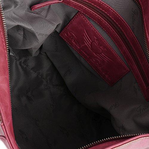 Fritzi aus Preußen Salome SheenN Bolso a hombro 42 cm Red