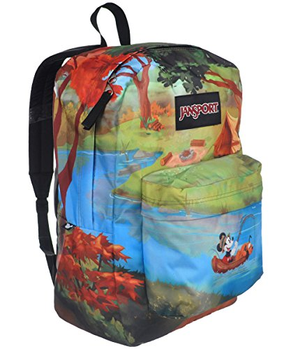 JanSport Disney High Stakes Backpack (Forest Camp)