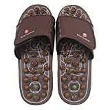 BYRIVER Therapeutic Acupuncture Massage Flip Flops for Men Women Foot Relaxation Massager Plantar Fasciitis