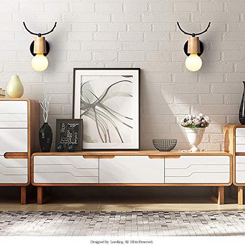 Led Lampe Babyroom Salon Applique Corne Pour Cerf Creative Mur Gzq SUpLqGMzV