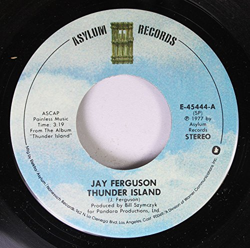 (Jay Ferguson 45 RPM Record Thunder Island/Magic Moment)