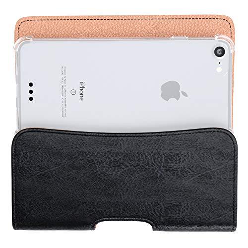 sale retailer 20885 a97f0 Bomea iPhone Xs Max Holster, iPhone 8 Plus 7 Plus Belt Clip Case, Premium  Leather Holster Pouch Case with Belt Clip Phone Holder for Apple iPhone Xs  ...