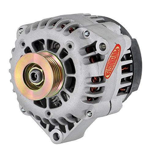 (Powermaster Performance 48247 Natural Alternator (AD230 165A 6 Groove Pulley OE Hookup PLFS))