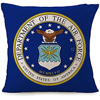 Amazon.com: bayyon U.S. Air Force casa decorativa de fundas ...