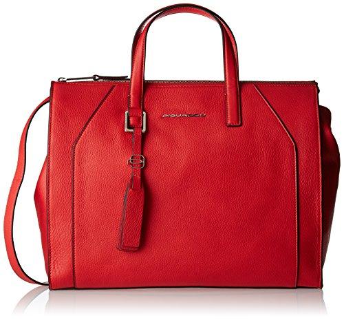 Piquadro Muse - Bolso de mano Mujer Rojo