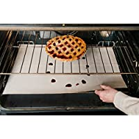 Evelots Non-Stick Reusable Oven Liners - using