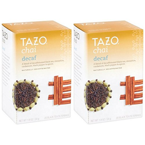 Tazo Decaf Chai Black Tea Filterbags 2OCT