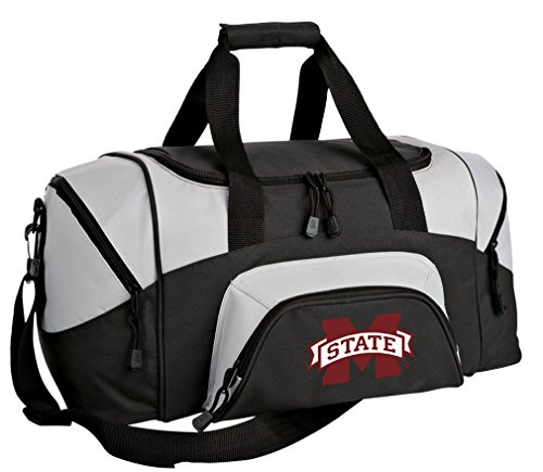 Gym Bulldogs Bag State Mississippi (SMALL MSU Bulldogs Duffel Bag Mississippi State University Gym Bags or Suitcase)