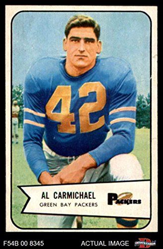 1954 Bowman # 115 Al Carmichael Green Bay Packers (Football Card) Dean's Cards 2 - GOOD Packers