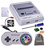 Retroflag SUPERPI CASE NESPI Case JCase SFC Case Functional Power and Safe Reset Button with USB Controller, Raspberry Pi Heatsink Fan for RetroPie Raspberry Pi 3 B+ & Raspberry Pi 3/2 Model B/B+