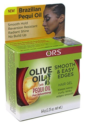 Organic Root Stimulator Olive Oil with Pequi Oil Edge Control Gel, 2.25 Ounce - Edge Olive