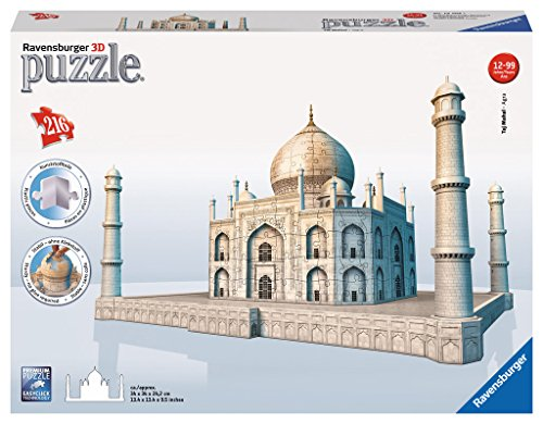 Taj Mahal 3D Puzzle, 216-Piece