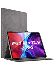"ESR Urban Premium Folio Case for iPad Pro 12.9"" [Supports Apple Pencil 2 Wireless Charging] Book Cover Design, Multi-Angle Viewing Stand, Auto Sleep/Wake for 12.9‑inch iPad Pro"